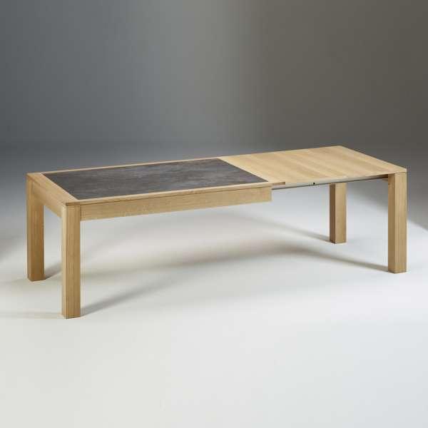 Table française extensible en céramique et bois MRC61 - 5