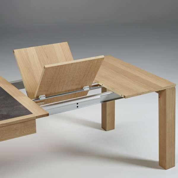 Table avec allonges  en céramique et bois made in France - MRC41 - 7