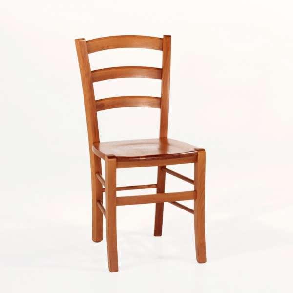 Chaise en bois rustique moyen - Brocéliande - 9