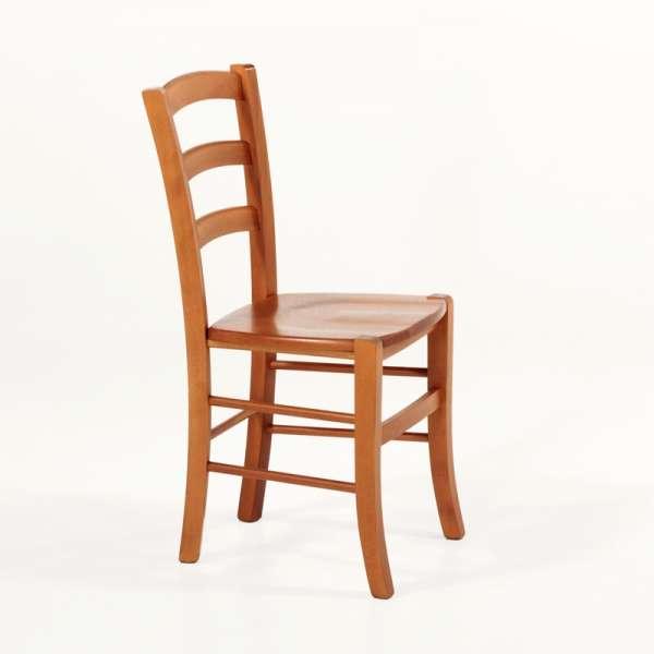 Chaise de cuisine en bois rustique - Brocéliande - 10