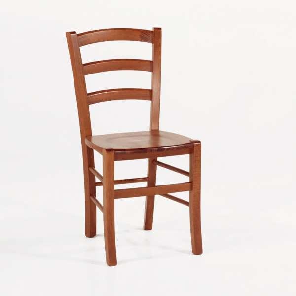 Chaise de cuisine en bois rustique - Brocéliande - 4