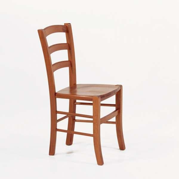 Chaise de cuisine en bois foncé - Brocéliande - 5
