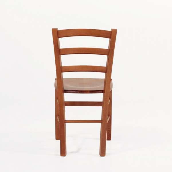 Chaise en bois rustique moyen - Brocéliande - 7