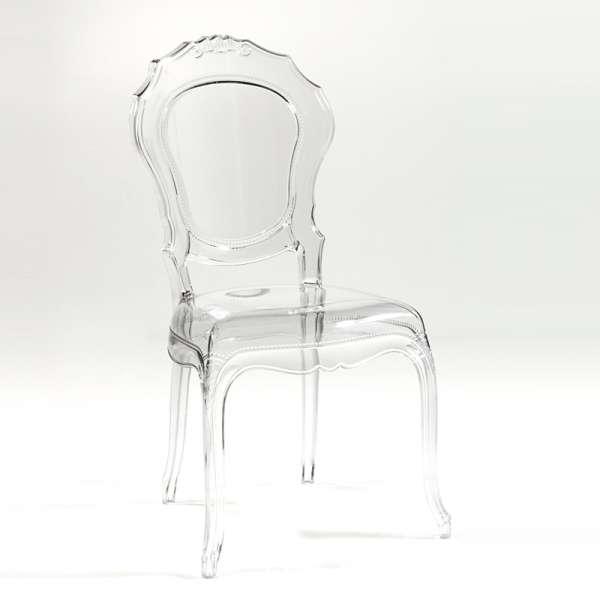 Chaise régence transparente - Belle Epoque - 3