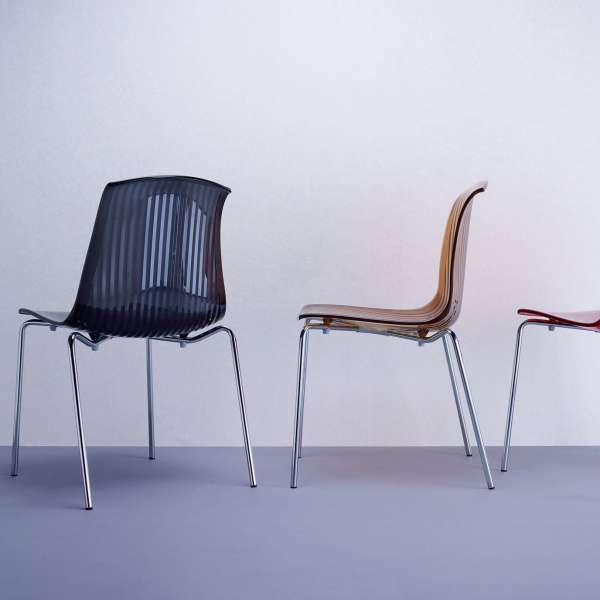 Chaise moderne en polycarbonate - Allegra - 15