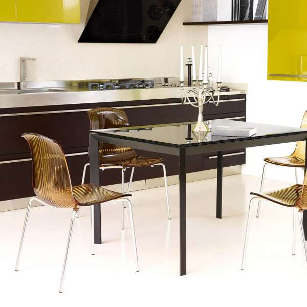 Chaise moderne en polycarbonate - Allegra - 22