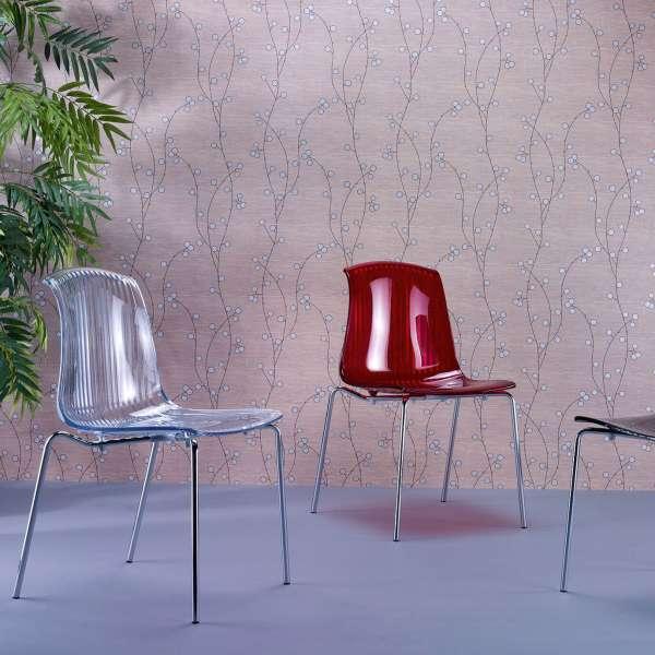 Chaise moderne en polycarbonate - Allegra - 25