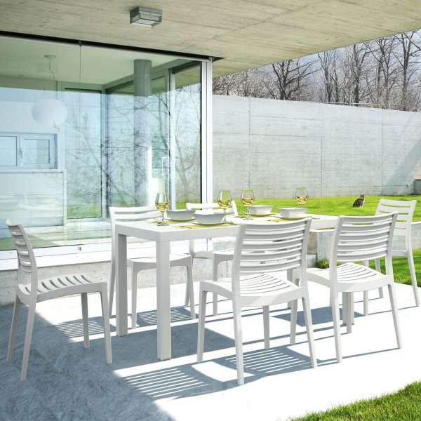 Chaise de jardin contemporaine en polypropylène - Ares - 3