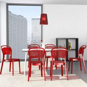 Chaise design en plexi Bee 20