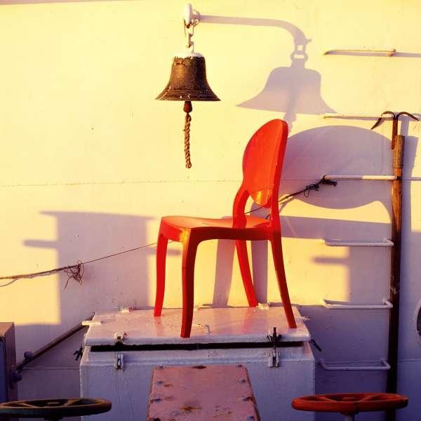 Chaise design Elizabeth Opaque en polycarbonate - 10
