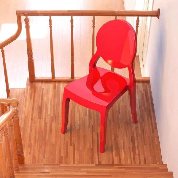 Chaise design Elizabeth Opaque en polycarbonate - 13
