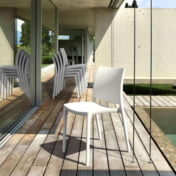 Chaise de jardin en polypropylène - Maya 11 - 4