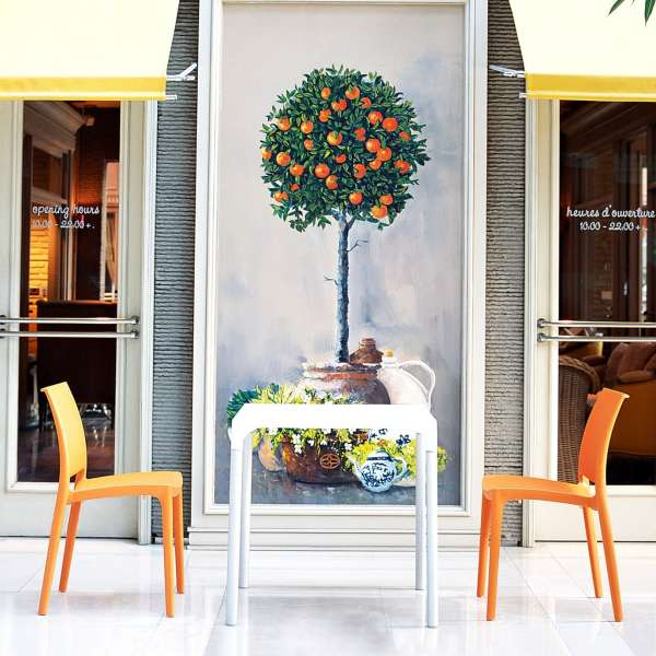 Chaise de jardin en polypropylène - Maya 16 - 14