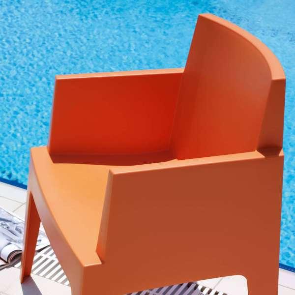 Fauteuil design de jardin en polypropylène Box 29 - 15