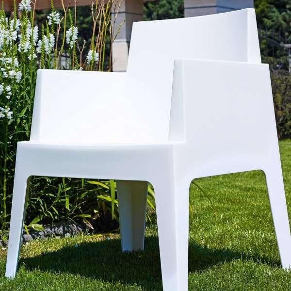 Fauteuil design de jardin en polypropylène Box 35 - 18