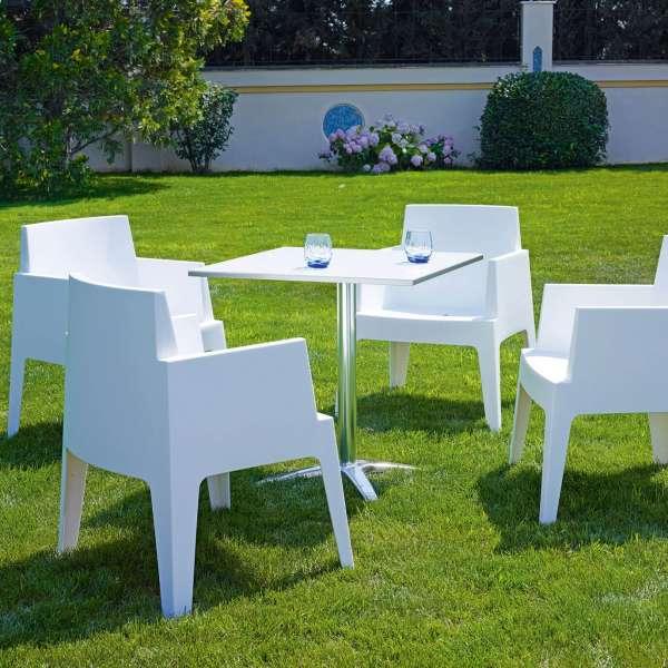 Fauteuil design de jardin en polypropylène Box 36 - 17