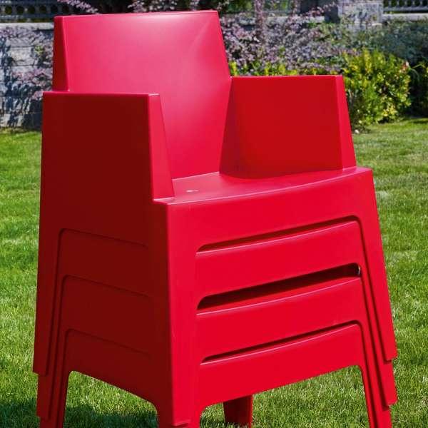 Fauteuil design de jardin en polypropylène Box 38 - 22