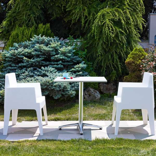Fauteuil design de jardin en polypropylène Box 39 - 19
