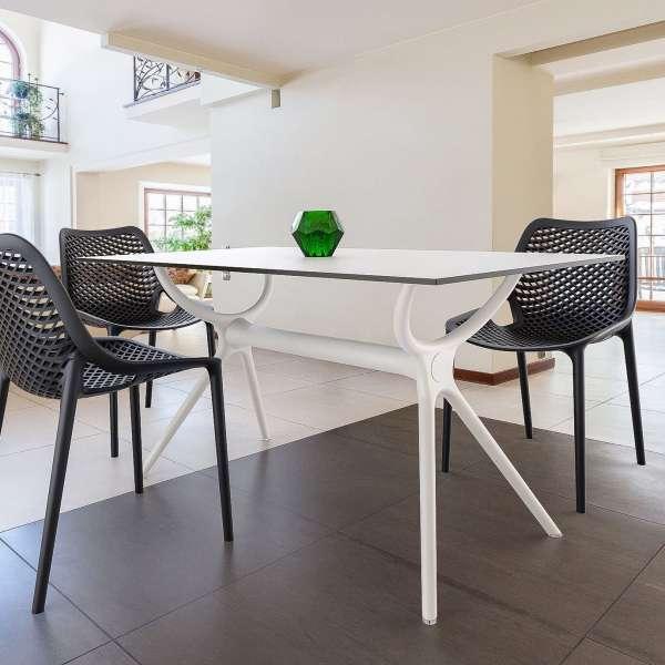 Table de salle à manger en stratifié et polypropylène - Air 15 - 10