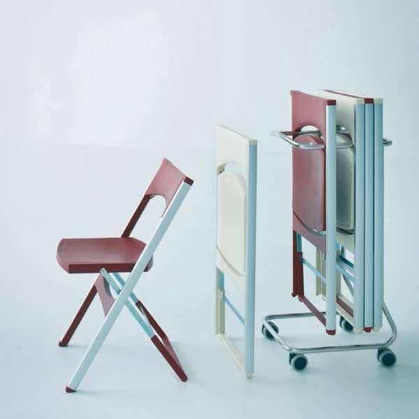 Chaise pliante résistante - Compact - 4