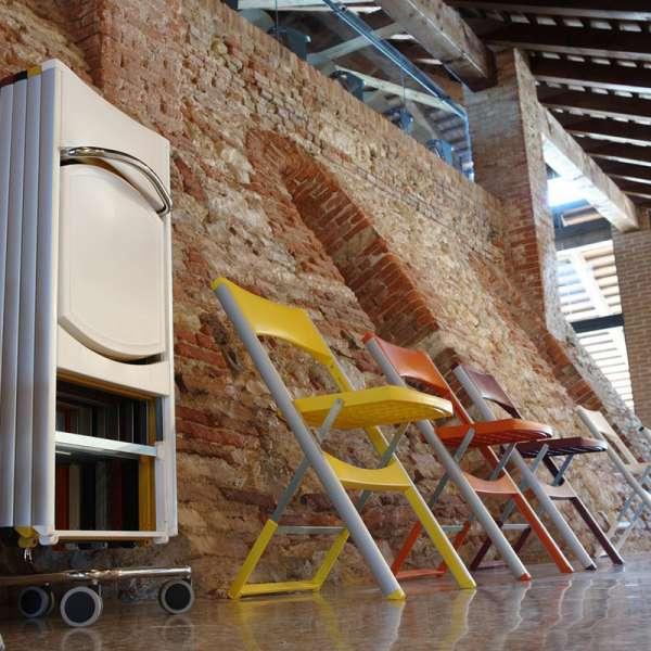 Chaise pliable résistante Compact - 6