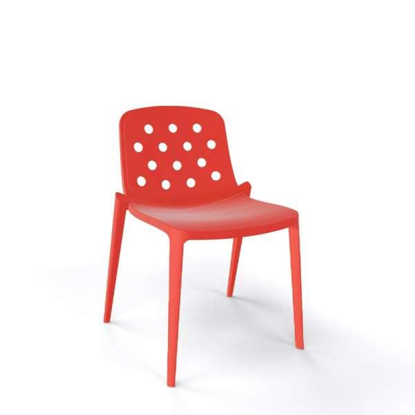 Chaise moderne empilable en plastique homard - Isidora - 7