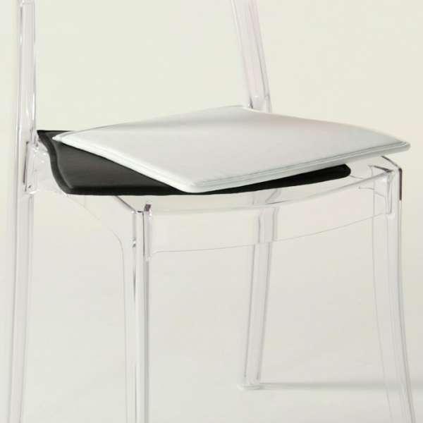 Chaise transparente avec coussin Elizabeth - 37