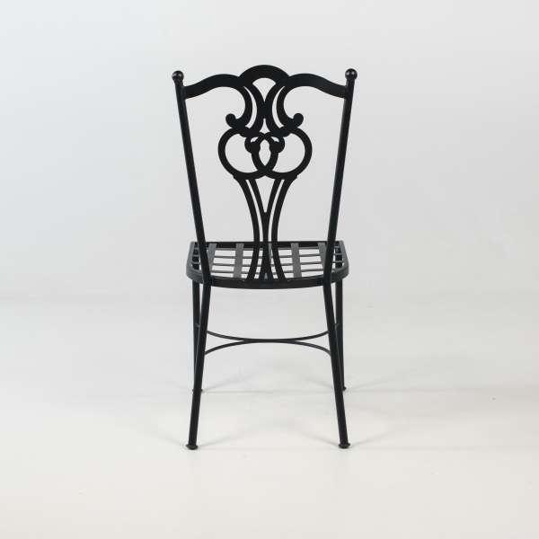 Chaise de jardin provençale en acier - Viena - 6