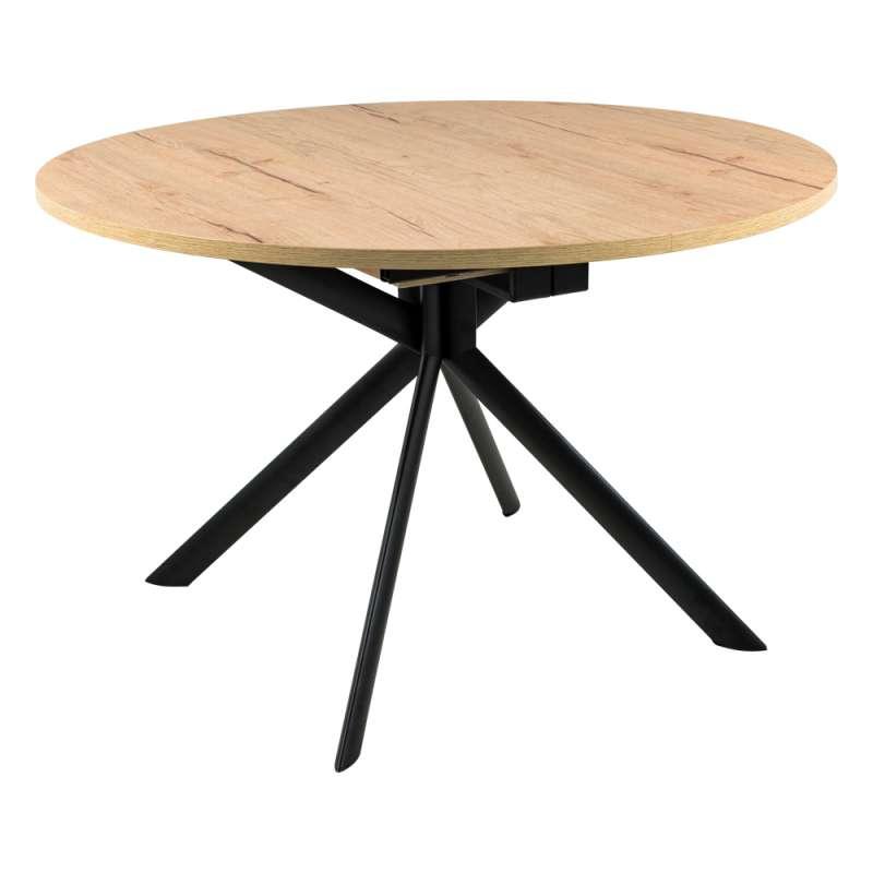 Table Ronde Extensible En Melamine Giove Connubia