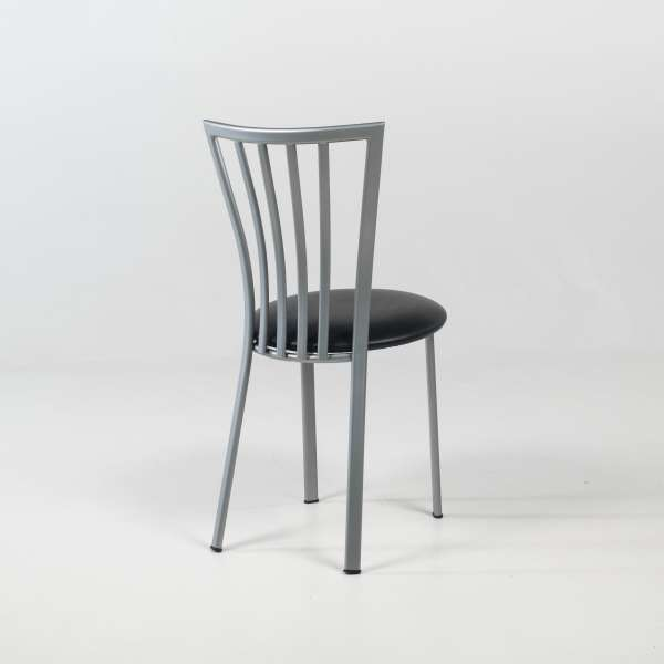 Chaise de cuisine avec assise rembourrée et pieds en métal - Era - 6