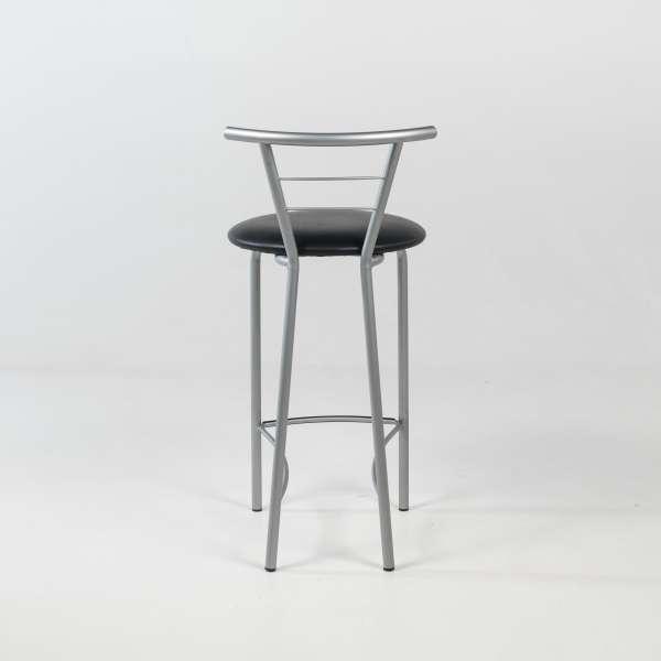 Tabouret snack avec assise rembourrée et structure en métal - Valérie - 5
