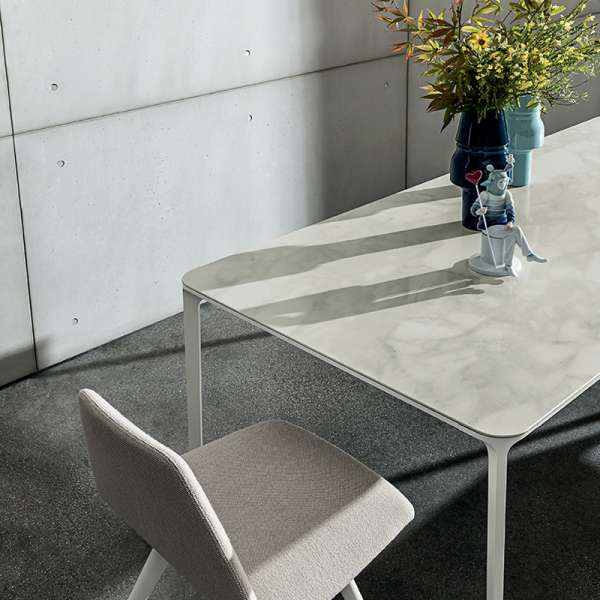 Table en céramique design extensible -  Slim Sovet® 23 - 23
