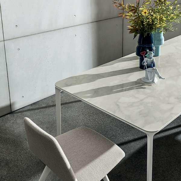 Table en céramique design extensible -  Slim Sovet® 23 - 23