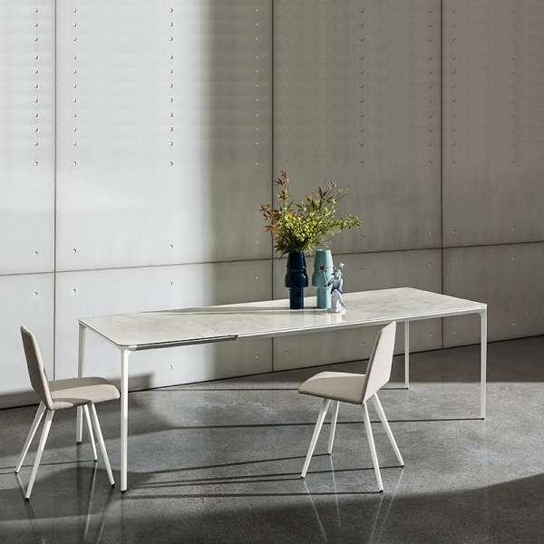 Table en céramique design extensible -  Slim Sovet® 24 - 24