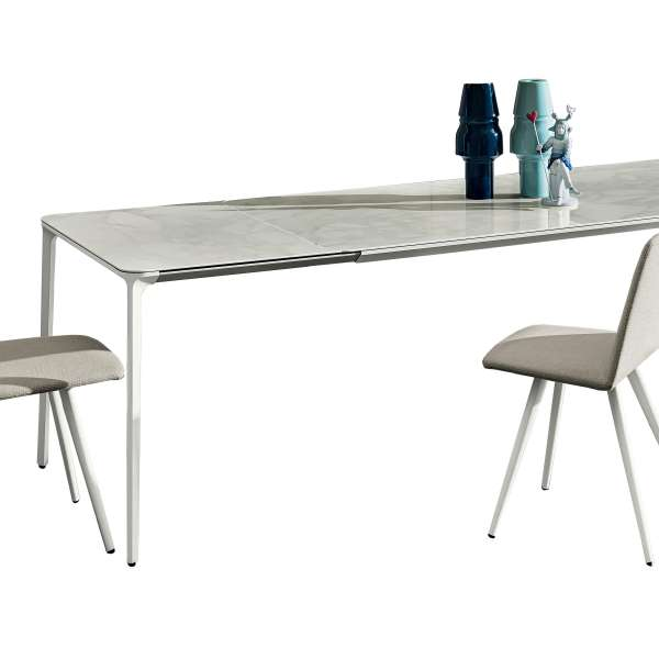 Table en céramique design extensible -  Slim Sovet® 26 - 26