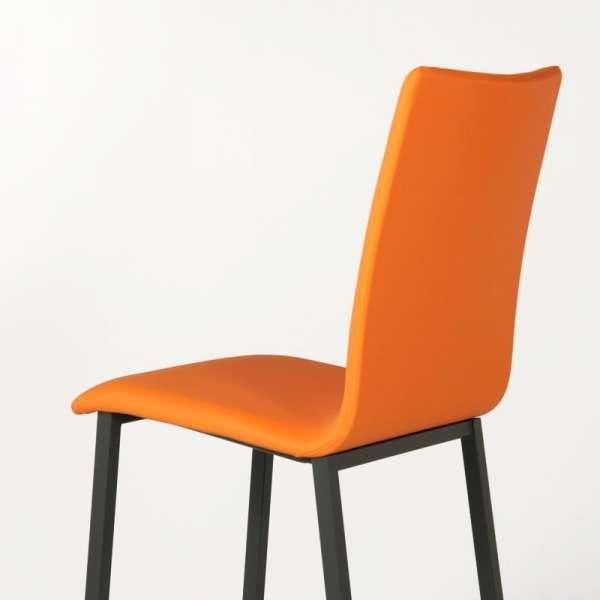Tabouret snack Mobliberica® en synthétique orange - Koko - 6