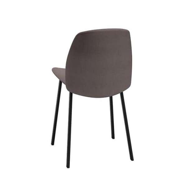 Chaise moderne rembourrée avec pieds en métal - Olivia - 3