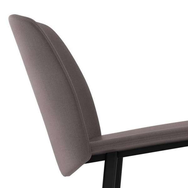 Chaise moderne rembourrée avec pieds en métal - Olivia - 5