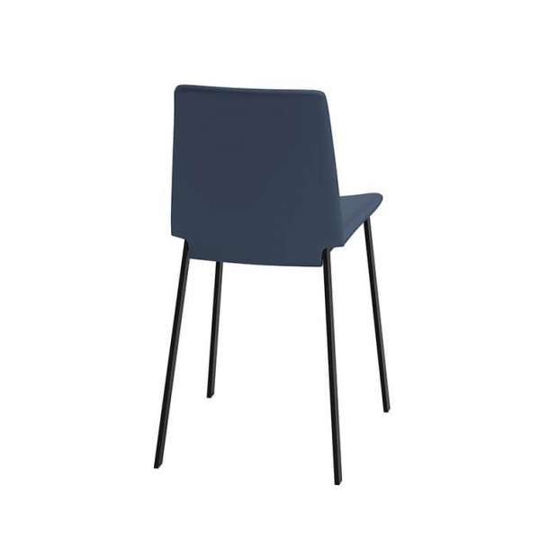 Chaise rembourrée avec pieds en métal - Primera - 3