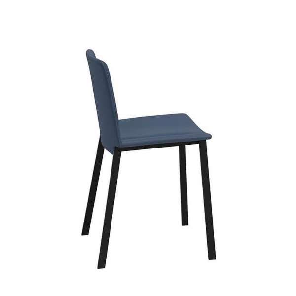 Chaise en métal rembourrée - Primera - 4