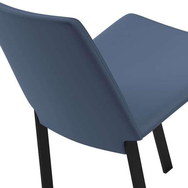 Chaise bleue et noire - Primera - 5
