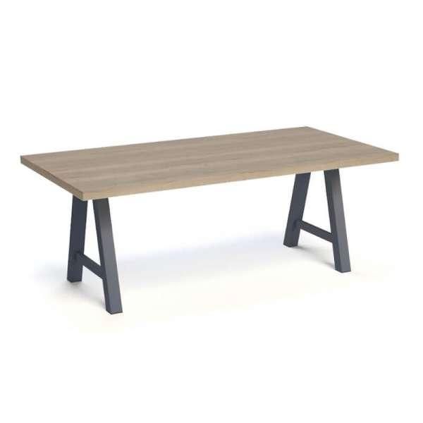 Table moderne de salle à manger en stratifié - Querido - 3