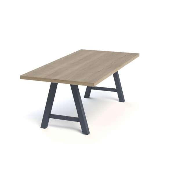 Table moderne de salle à manger en stratifié - Querido - 4