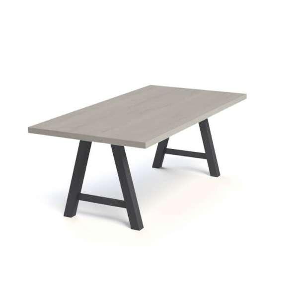 Table moderne de salle à manger en stratifié - Querido - 5