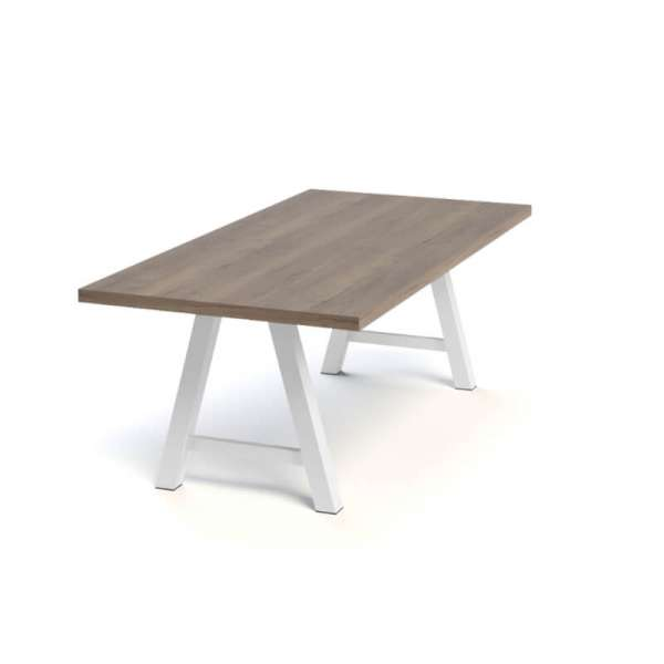 Table moderne de salle à manger en stratifié - Querido - 11