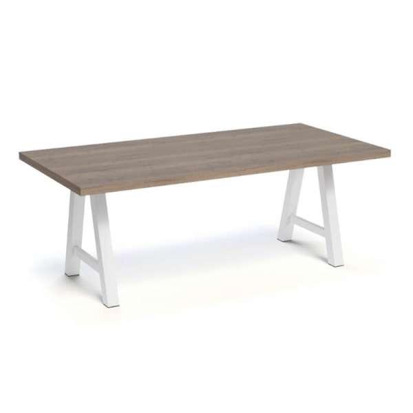Table moderne de salle à manger en stratifié - Querido - 12