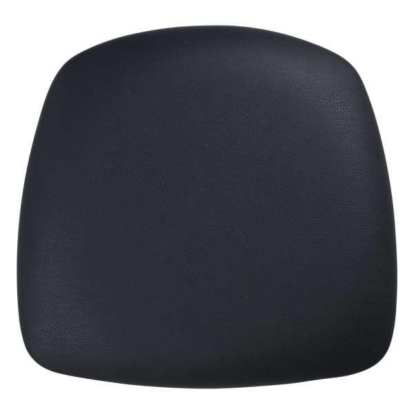 Assise trapézoïdale noire pour chaises et tabourets - 5
