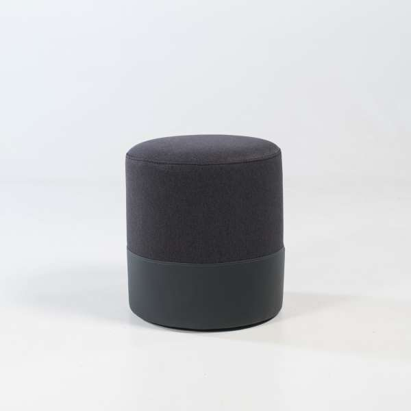 Pouf anthracite - Edith - 8