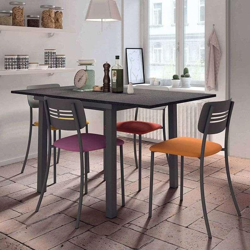 Table de cuisine extensible en stratifi vienna 4 Fly table de cuisine