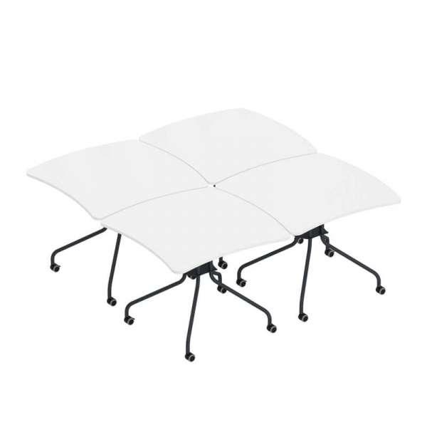 Table de réunion pliable made in France - Kali - 3